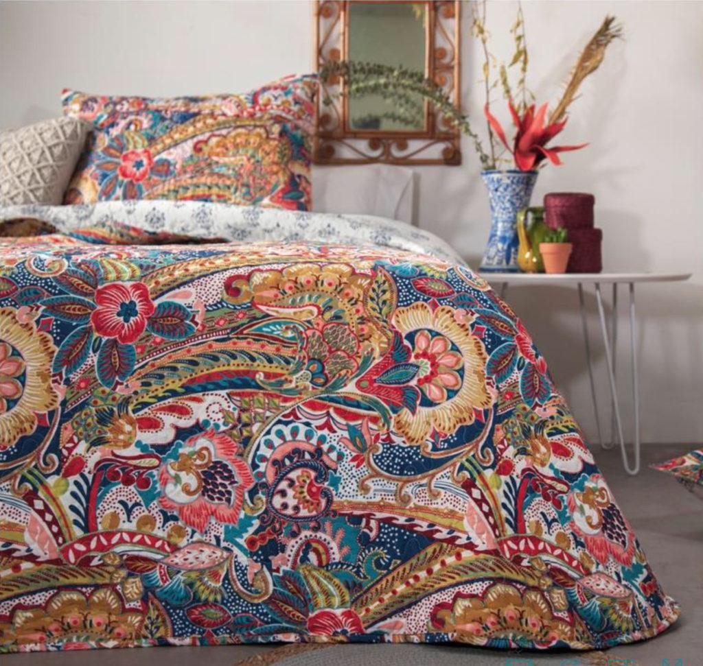 colcha de cama bouti indu