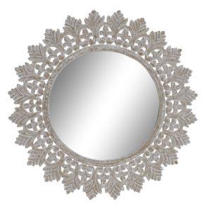 espejo mdf madera tallada
