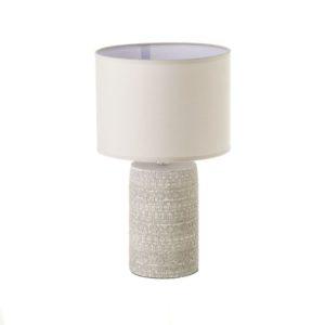 lampara de sobremesa cemento taupe