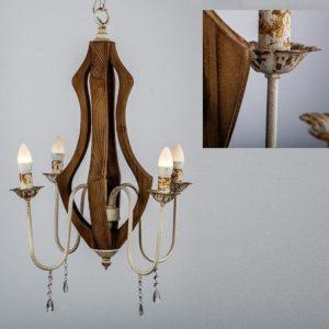 lampara techo varsovia madera