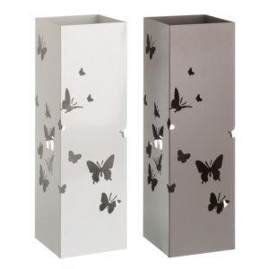 paraguero metal mariposa