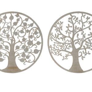 decoracion-pared-metal-arboles
