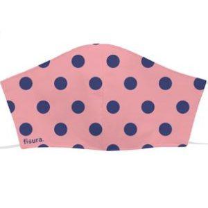 mascarilla-adulto-lunares-rosa-y - azul