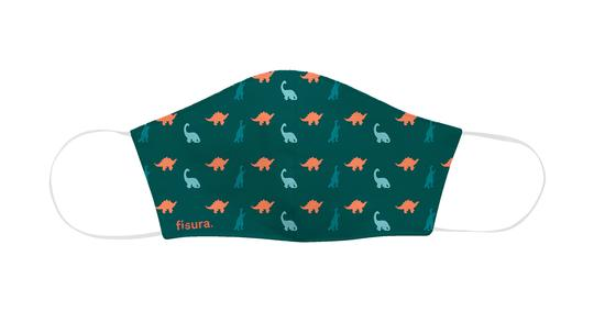 mascarilla-infantil-dinosaurios