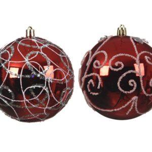 bola-navidad-roja-brillante