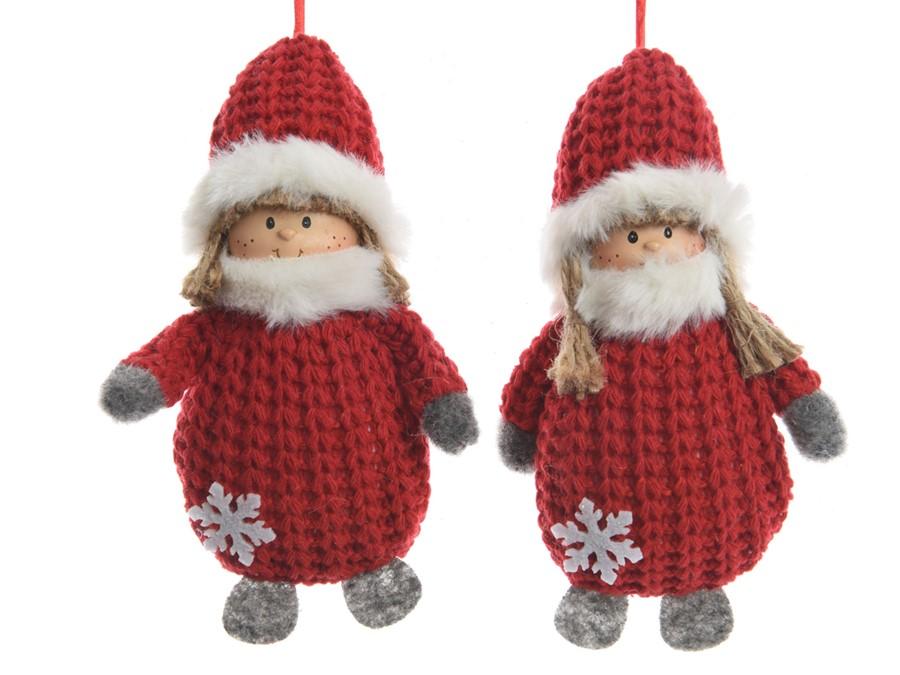 colgante-navidad-niño-rojo