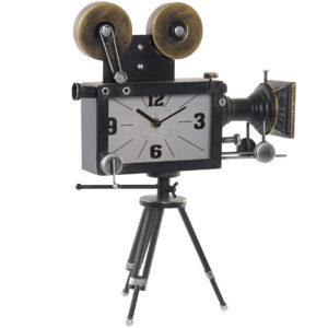 reloj-de-sobremesa-camara-de fotos-metalica