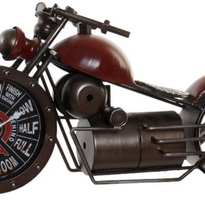 reloj-moto-roja