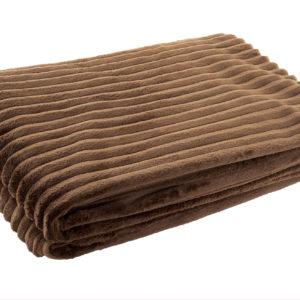 manta-marron-chocolate