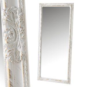 espejo pared pino blanco
